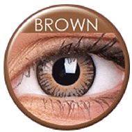 ColourVUE dioptrické 3 Tones (2 šošovky), farba: Brown, dioptrie: -6.00 - Kontaktné šošovky
