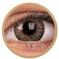 ColourVUE dioptrické TruBlends (10 šošoviek), farba: Brown, dioptrie: -4.50 - Kontaktné šošovky