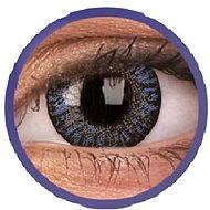 ColourVUE dioptrické TruBlends (10 šošoviek), farba: Blue, dioptrie: -4.50 - Kontaktné šošovky