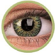 ColourVUE dioptrické TruBlends (10 šošoviek), farba: Green, dioptrie: -4.00 - Kontaktné šošovky