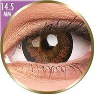 ColourVUE dioptrické Phantasee Big Eyes (2 šošovky), farba: Angel Hazel, dioptrie: -7.00 - Kontaktné šošovky