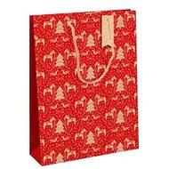 Clairefontaine Dalecarlia rouge, veľkosť L, balenie 6 ks - Darčeková taška