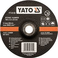 Yato Kotúč na kameň 125 × 22 × 3,2 mm - Rezný kotúč