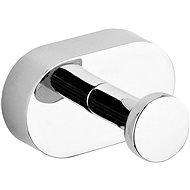 Háčik oválny na župan Oval Chrom - Háčik do kúpeľne