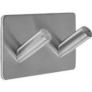 Dvojitý háčik uhlový nalepovací 3M Steely - Háčik do kúpeľne