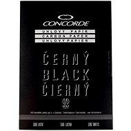 CONCORDE uhlový, A4, 100 listů, černý - Farebný papier