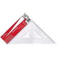 CONCORDE trojuholník s ryskou, transparentný