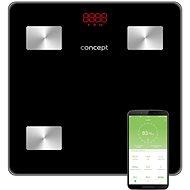 CONCEPT VO4001 Osobní váha diagnostická 180 kg PERFECT HEALTH, černá