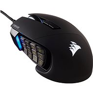 Corsair Scimitar Elite RGB, Black - Gaming Mouse