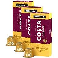 Costa Coffee Colombia 100% Arabica Espresso 10 kapsúl – kompatibilné s kávovarmi Nespresso; 3×