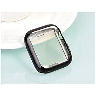 COTEetCI celoplošné ochranné termoplastové puzdro pre Apple Watch 44 mm čierne - Ochranný kryt na hodinky