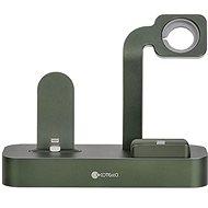COTEetCI nabíjacia stanica Base29 3 v 1 pre Apple iPhone & Watch & AirPods/Pro zelená - Nabíjací stojan