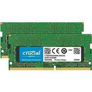 Crucial SO-DIMM 8 GB KIT DDR4 2666 MHz CL19 Single Ranked - Operačná pamäť