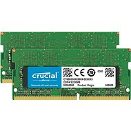 Crucial SO-DIMM 32 GB KIT DDR4 2666 MHz CL19 Dual Ranked - Operačná pamäť