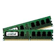 Crucial 2GB KIT DDR2 800MHz CL6 - Operačná pamäť