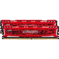 Crucial 8 GB KIT DDR4 2666 MHz CL16 Ballistix Sport LT Red - Operačná pamäť
