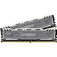 Crucial 16 GB KIT DDR4 3000 MHz CL16 Ballistix Sport LT Single Ranked Grey