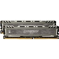 Crucial 16GB KIT DDR4 3000MHz CL16 Ballistix Sport LT Grey