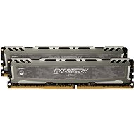 Crucial 16GB KIT DDR4 3000 MHz CL15 Ballistix Sport LT Grey