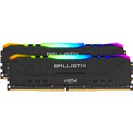 Crucial 16GB KIT DDR4 3200 MHz CL16 Ballistix Black RGB