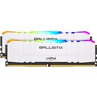 Crucial 32GB KIT DDR4 3200 MHz CL16 Ballistix White RGB - Operačná pamäť