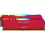 Crucial 16GB KIT DDR4 3600 MHz CL16 Ballistix Red RGB - Operačná pamäť