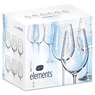 CRYSTALEX Poháre na víno 450 ml 6 ks ELEMENTS