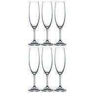 Crystalex Poháre na šampanské LARA 220 ml 6 ks - Poháre na šampanské