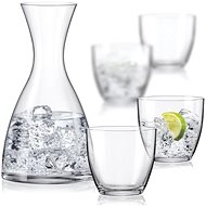 Crystalex WATER SET karafa a poháre na vodu - Karafa