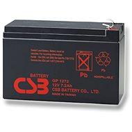 CSB GP1272 F2, 12 V, 7,2 Ah - Nabíjateľná batéria