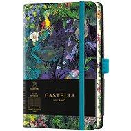Zápisník CASTELLI MILANO Eden Lily, veľkosť S