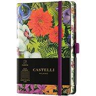 Zápisník CASTELLI MILANO Eden Orchid, veľkosť S