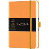 Zápisník CASTELLI MILANO Aqua Clementine, veľkosť S