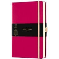 Zápisník CASTELLI MILANO Aqua Amaranth, veľkosť S