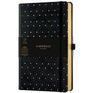 CASTELLI MILANO Copper & Gold Honey, veľkosť M Gold - Zápisník