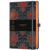 CASTELLI MILANO Copper & Gold Baroque, veľkosť M Orange