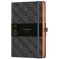 CASTELLI MILANO Copper & Gold Deco, veľkosť M Gold