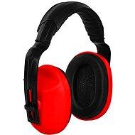 CXS Mušľové chrániče sluchu EP106, červené - Slúchadlá