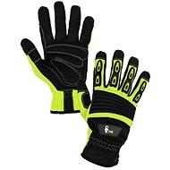 CXS Rukavice YEMA žlto-čierne, veľ. 9 - Pracovné rukavice