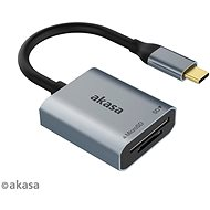 Čítačka kariet AKASA SD a microSD USB C čítačka kariet/AK-CR-10BK