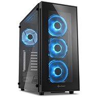 Sharkoon TG5 Glass Blue - Počítačová skriňa