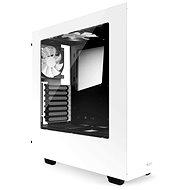 NZXT S340 biela - Počítačová skriňa