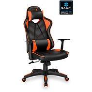 CONNECT IT LeMans Pro CGC-0700-OR, orange - Herná stolička