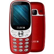 CUBE1 F500 červený - Mobilný telefón