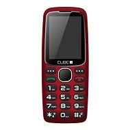 CUBE1 S300 Senior červený - Mobilný telefón