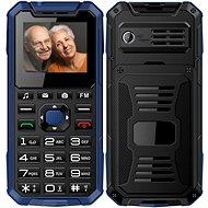 CUBE1 S400 Senior modrý - Mobilný telefón