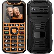 CUBE1 S400 Senior oranžová - Mobilný telefón