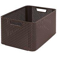CURVER STYLE BOX L, 03616-210 - hnedý - Úložný box