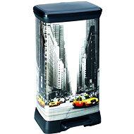 Curver Odpadkový koš DECOBIN NEW YORK - Odpadkový kôš