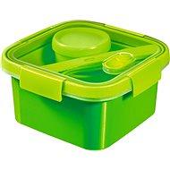 CURVER SMART TO GO 1,1 l s príborom, mištičkou a táckou – zelená